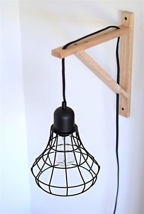 Diy Wall Sconce Light Nalle S House Diy Cage Light Sconces