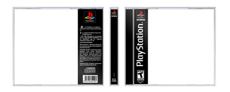 playstation one psx template