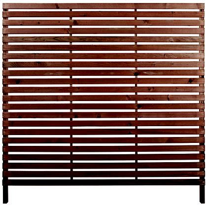 rothley skreen slatted  fence panelsscreens pack