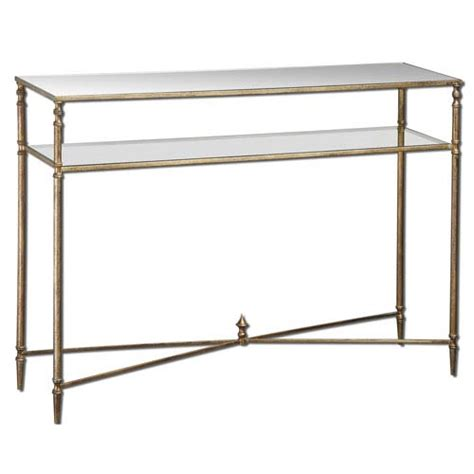 Uttermost Console Table Gold Henzler Console Table Uttermost Console Sofa Tables Accent Tables Living Room Furnitu