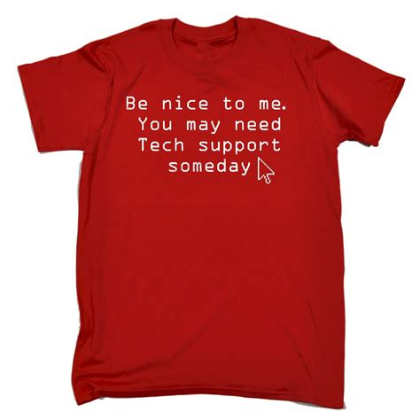Buy A Rnd T Shirt To Support Comic Relief by Be You May Need Tech Support T Shirt Computer
