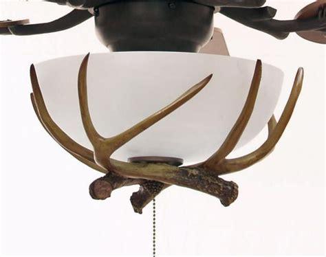 Craftmade Antler Light Kit Bronze Finish Rustic Antler Ceiling Fan Light Kit