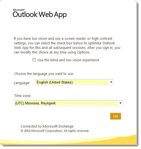Office 365 Timezone Outlook Web App For Office 365 Bruceb News