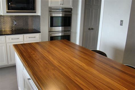 island counter top afromosia wood countertop photo gallery by devos custom