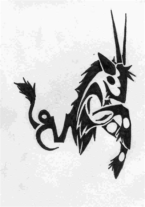 tattoo capricorn tribal tribal capricorn symbol related keywords tribal