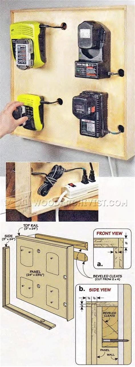 charging station plans workshop solutions a collection of ideas to try about diy