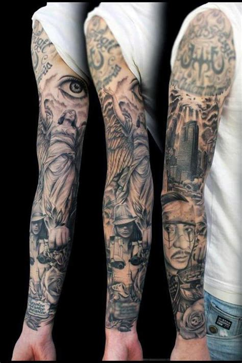 full sleeve tattoos 20 sleeve tattoos design ideas for and