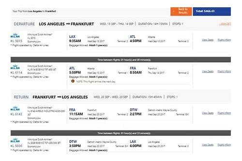 delta airlines deals from detroit