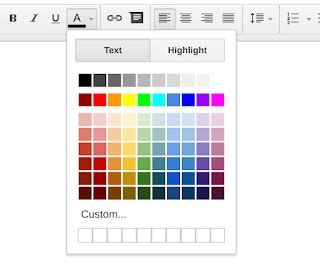how to change font color in docs how can i change text color in docs