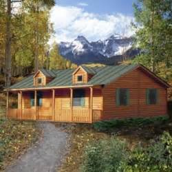 ponderosa log home spirit cabins modular log homes