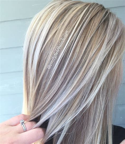brown hair with platinum highlights pictures 25 best ideas about blond highlights on pinterest