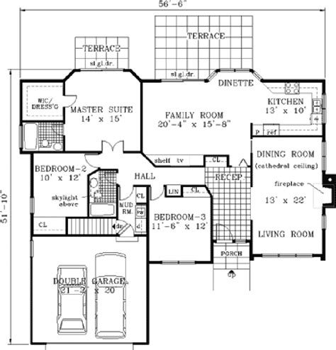 modern ranch floor plans contemporary ranch house plans numberedtype