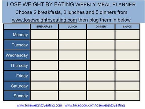 printable meal planner for weight loss 1000 images about 1200 calorie diet plans on pinterest