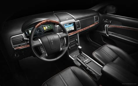 Lincoln Mkz Interior by 2011 Lincoln Mkz Hybrid Interior Wallpaper Hd Car Wallpapers