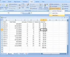create a one input data table table 171 table 171 microsoft