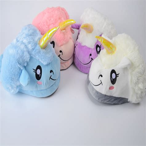 cute house slippers animal unicorn slipper men home slippers chaussons licorne adultes women cute house slippers in