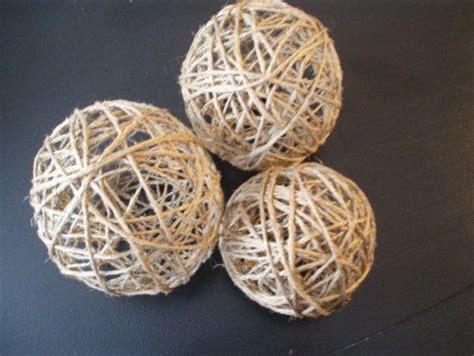 decorative raffia balls 17 best images about rope balls decorations on pinterest