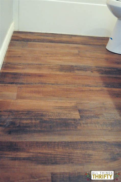 How To Install Peel And Stick Wood Flooring by How To Easily Install Peel And Stick Vinyl