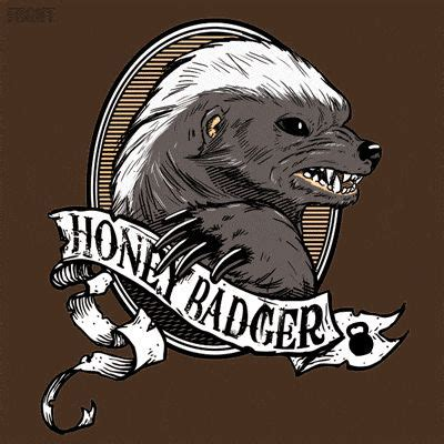 honey badger tattoo honey badger attitude to spare happy bunny grumpy cat