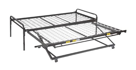 Trundle Bed Frames Pop Up 33 Steel High Riser Day Bed Frame Pop Up Trundle Bed Frame Pop Up Trundle Find It