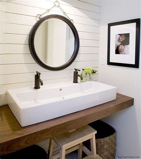 double trough sink bathroom double trough style sink for someday master bath remodel
