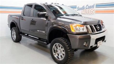 manual cars for sale 2006 nissan titan parking system purchase used 2006 nissan titan se crewcab 66k miles 20 quot wheels grey cloth big tow package in