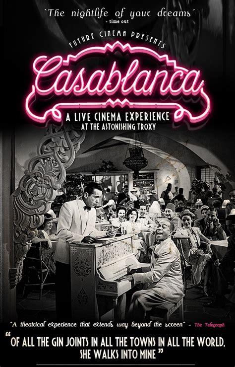 themes in the film casablanca 8 best images about secret cinema on pinterest cas