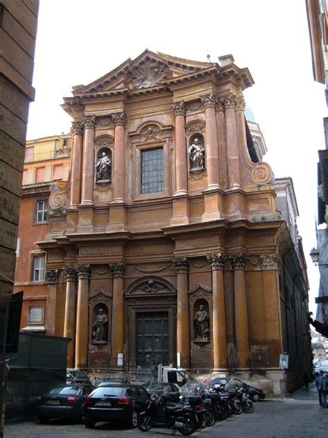 chiesa dei ladari a roma santissima trinit 224 dei pellegrini rome
