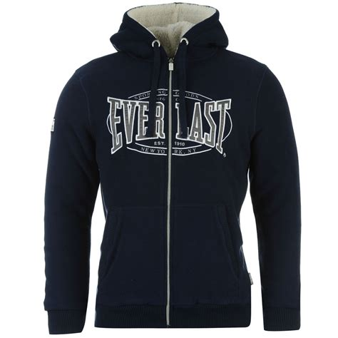 Hoodie Logo Everlast 1 everlast fleece hoody sweatshirt or jacket mens ufc mma boxing hooded jumper top ebay