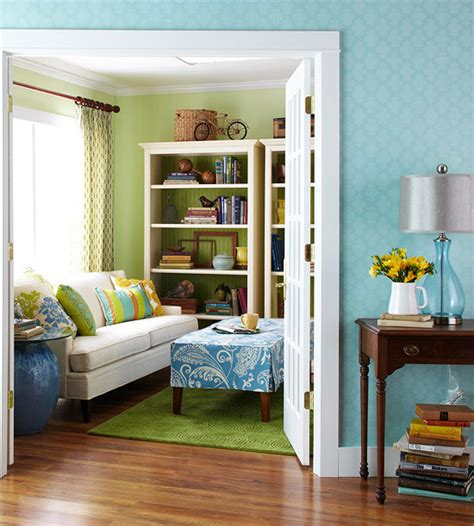 green and blue living room renovating simple small colorful living room with fresh