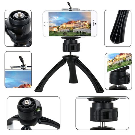 Mini Tripod Stand For Smartphone Gopro And Xiaomi Yi universal mini tripod stand for smartphone