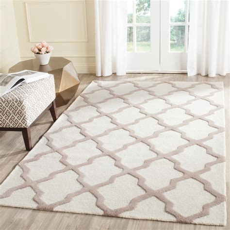 Area Rug 5 X 8 Safavieh Cambridge Ivory Beige 5 Ft X 8 Ft Area Rug Cam121p 5 The Home Depot
