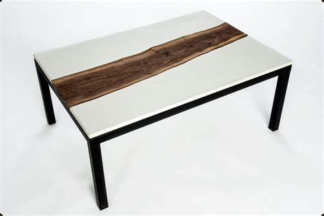 Concrete And Wood Coffee Table Furniture 171 Concrete Pete