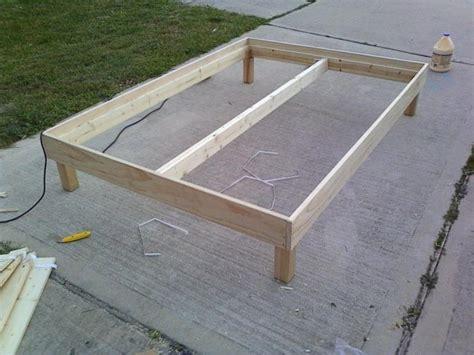 Simple Bed Frame Plans Plans Wooden Bed Frame Plans Diy Corner Tv Shelf Wall Mount Ecruebondsght