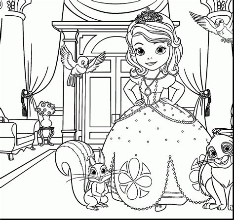 clover coloring page free sofia the first coloring pages glamorous sofia the first printable coloring page clover