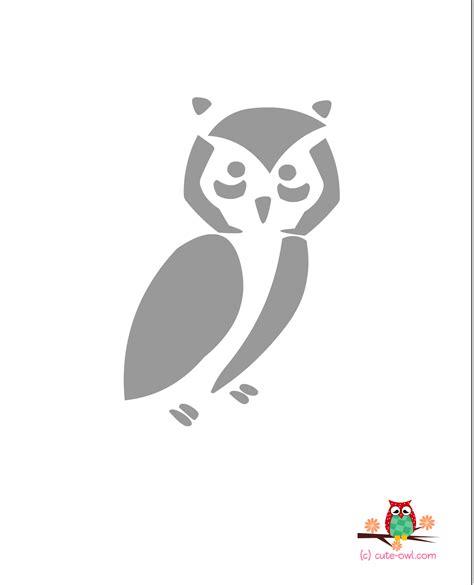 printable owl stencils cute owl stencils free printable