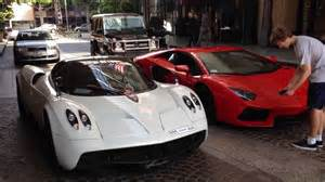 pagani huayra vs lamborghini aventador which one would