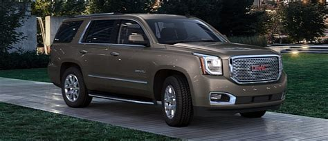 the 2015 gmc yukon comes in 9 colors which one do you prefer photo gallery autoevolution