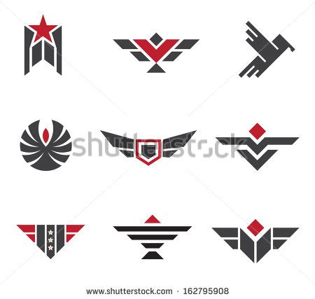 army logo pattern army and military badges and strength logo icon symbols