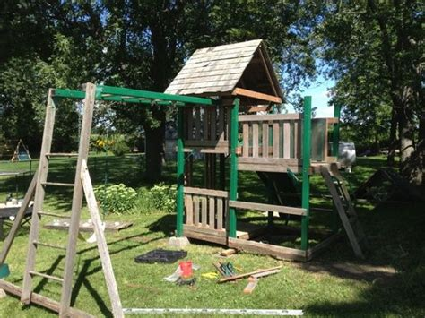 craigslist swing sets solar swing set pv playhouse do it yourself