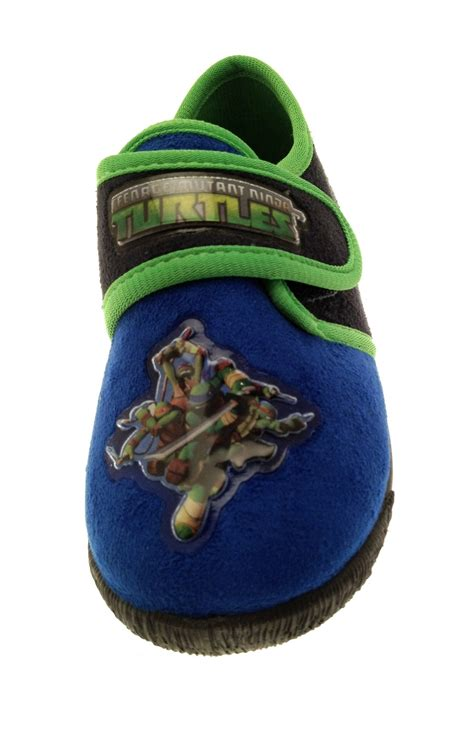 boys mutant turtles slippers mules tmnt