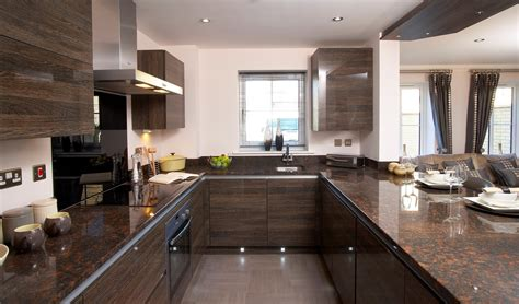 dark wood kitchen ideas u shaped kitchen designs by dark brown wooden kitchen