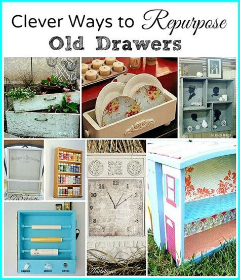 repurpose old drawers creative pinterest creative before running and look at on pinterest