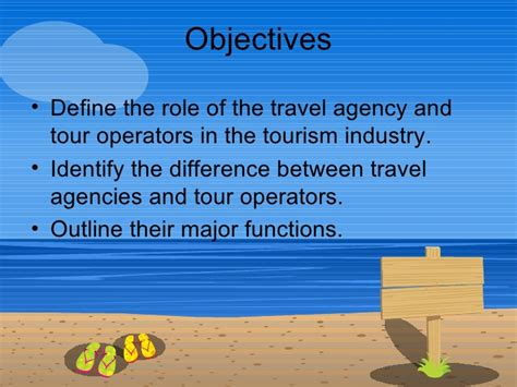 Business Letter For Tour Operating Agency 02 Travel Agencies And Tour Operators An Introduction