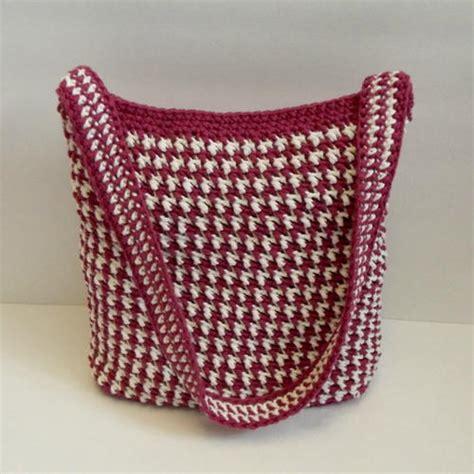 crochet afghan bag pattern beginner tote bag favecrafts com