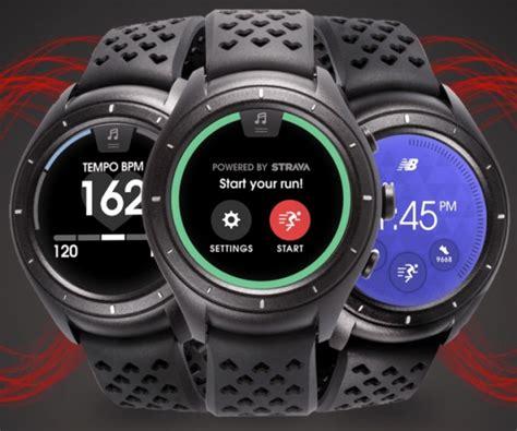 New Balance Runiq Android Wear 2 0 Smartwatch new balance runiq now available notebookcheck net news
