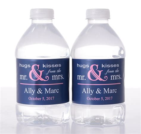 Wedding Water Bottle Labels by Vintage Wedding Water Bottle Labels By Labelsrus