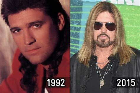 country stars where are they now billy ray cyrus then and now country stars zimbio