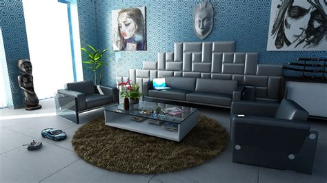 wohnzimmer blau grau zimmerfarbe grau 10 ideen mit fotos