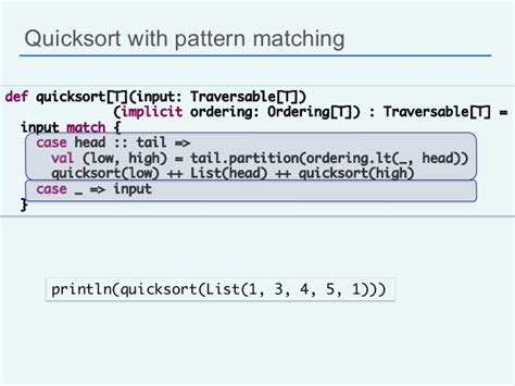 scala pattern matching in java scala for java developers silicon valley code c 13